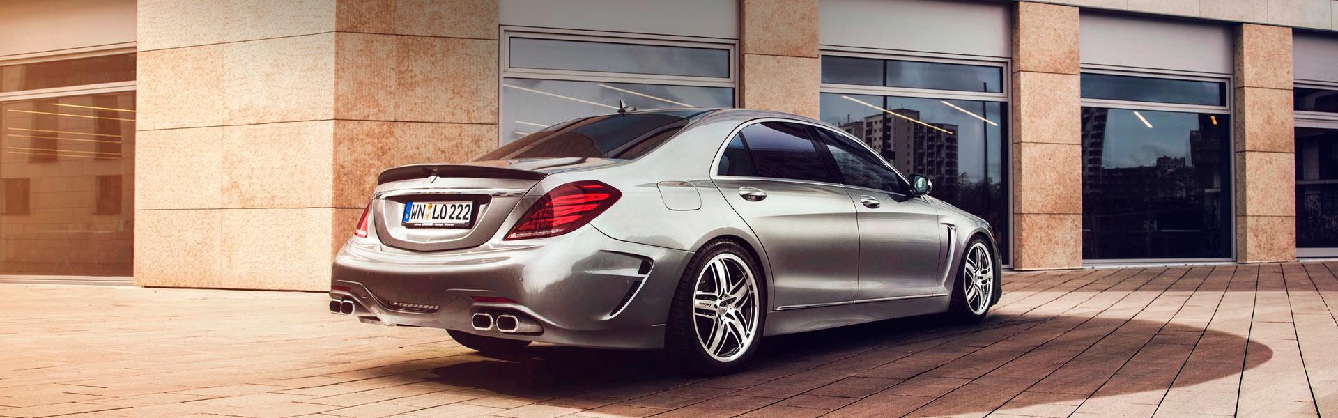 Запчасти на Mercedes S-klasse